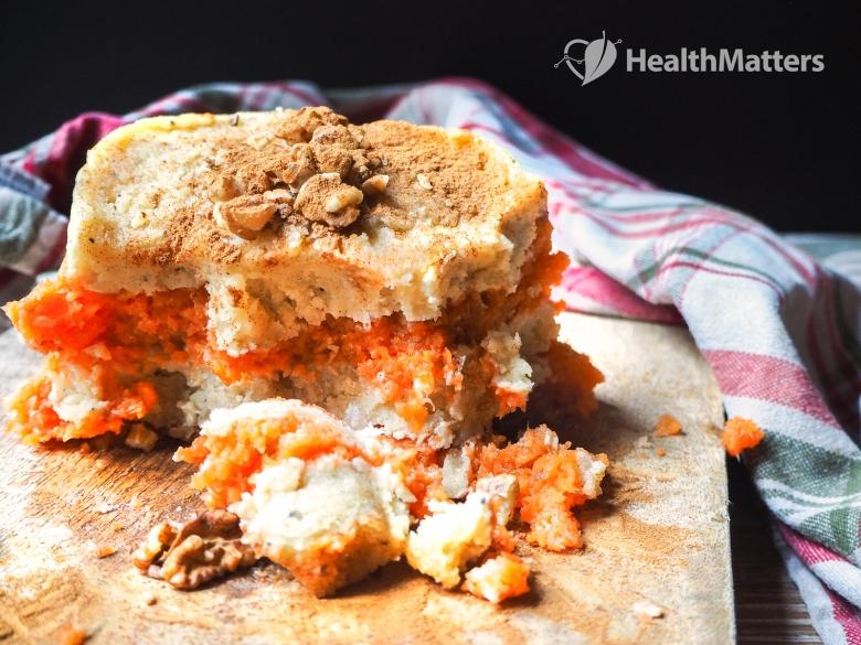 raw vegan carrot cake
