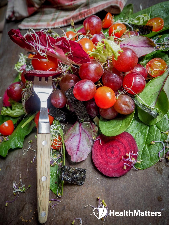 www.healthmatters.io - Beet Carpaccio Salad