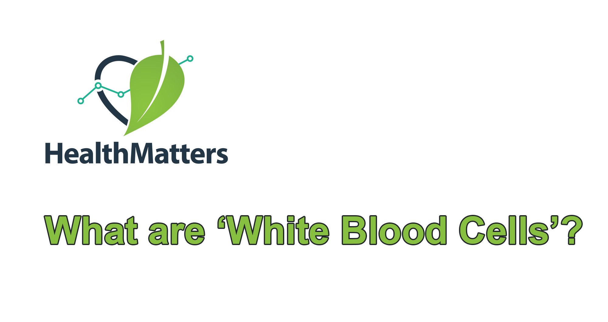 What are white blood cells?