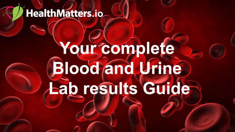 HealthMatters Complete Blood and Urine Guide