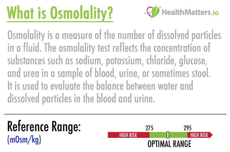 osmolality high low meaning test results
