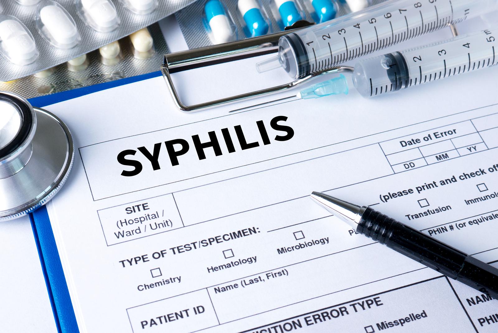 Rapid plasma reagin (RPR) Syphilis