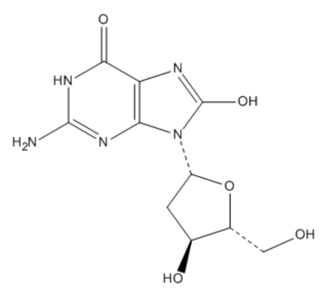 8-HYDROXY-2-DEOXYGUANOSINE