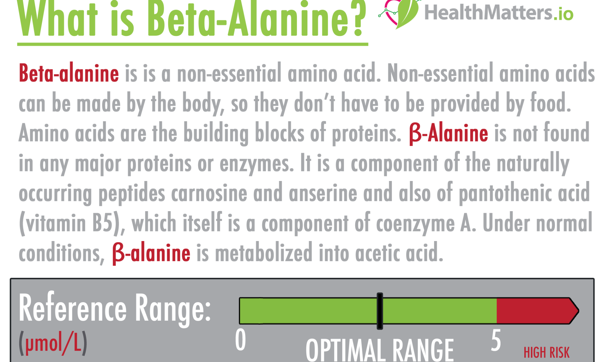 beta-alanine genova high low amino acid non-essential result report meaning treatment