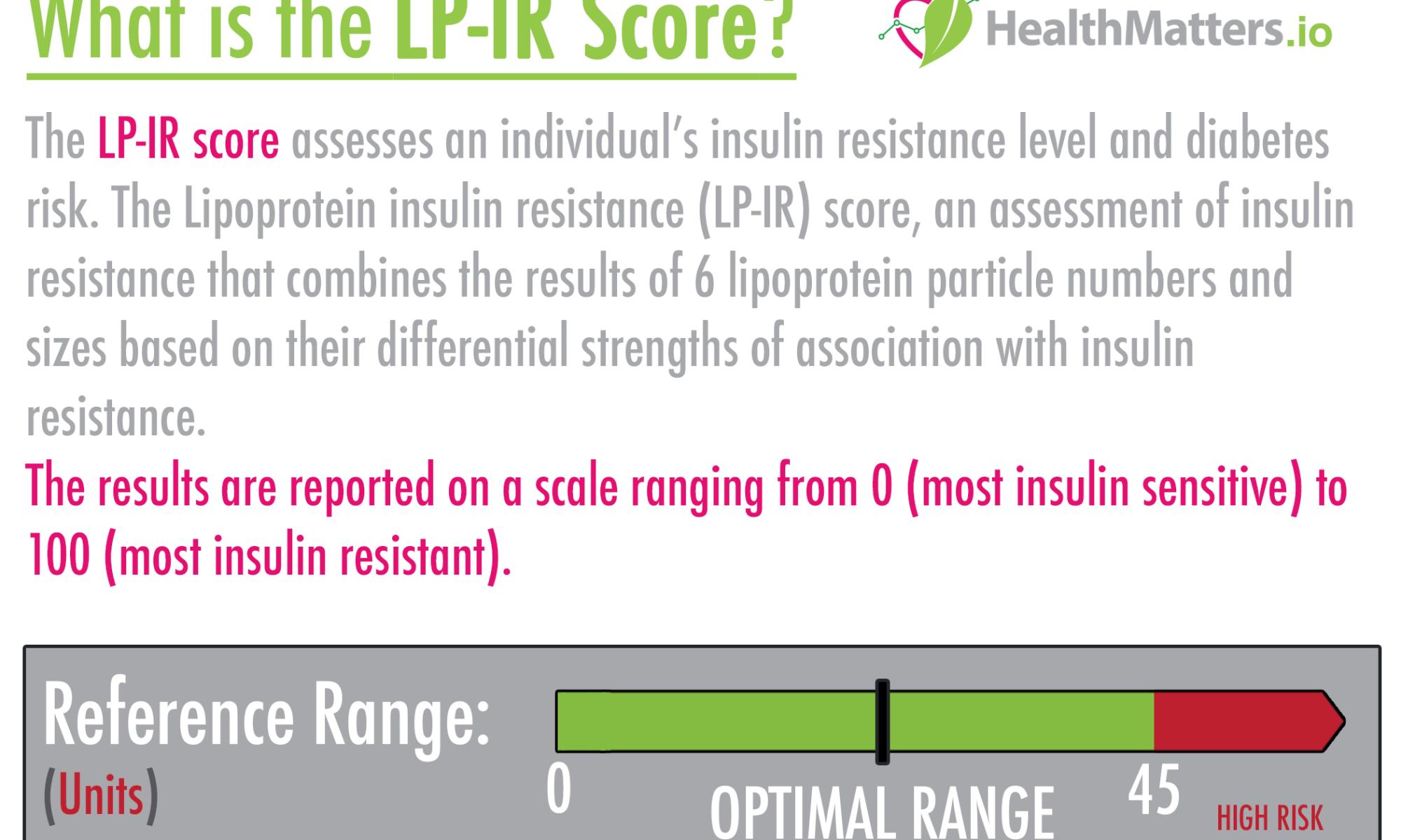 LP-IR score LDL HLD T2D type 2 diabetes high low meaning treatment vegan