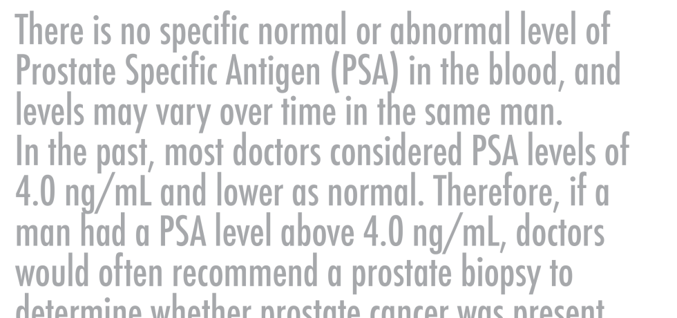 What is a normal PSA result? PSA prostate specific antigen